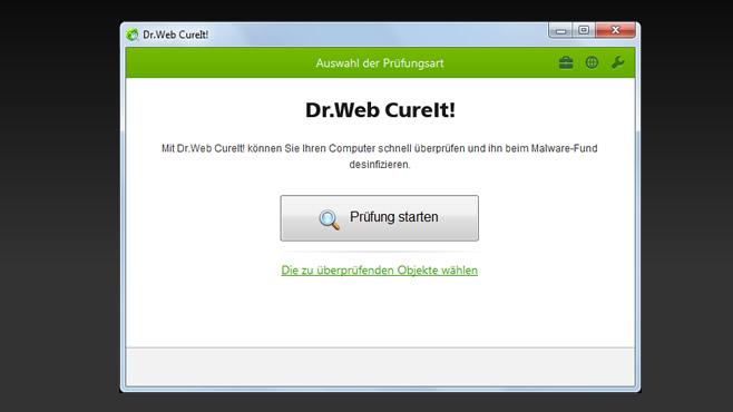 drweb_cureit gratis virenscanner